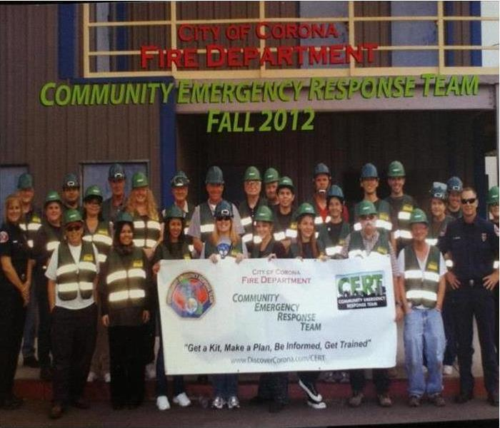 Members of the Community Emergency Response Team