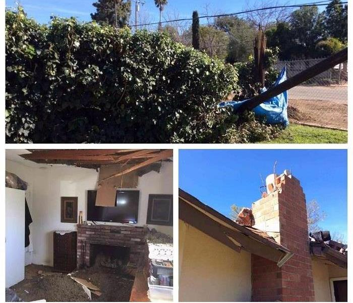 Wind Damage? SERVPRO of Corona Can Help